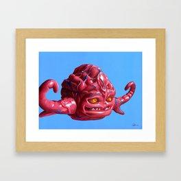 Krang — Banned from Dimension X Framed Art Print