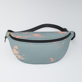 Copper Splatter 087 Fanny Pack