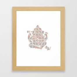 Zen Strength III Framed Art Print