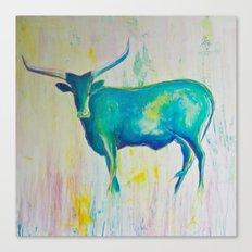 Texas Blues Canvas Print
