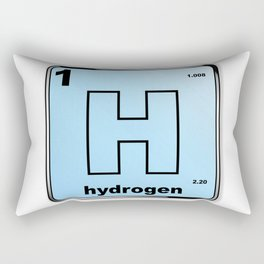 Hydrogen From The Periodic Table Rectangular Pillow