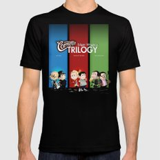 The Three Sweetest Flavours Black Mens Fitted Tee MEDIUM