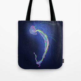 Swimming Jellyfish Tote Bag