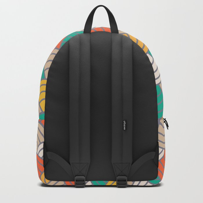 Colorful Circles X Backpack