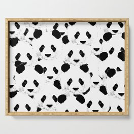 Panda pattern Serving Tray