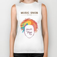 paramore Biker Tanks featuring MORE Music to DYE for — Music Snob Tip #075.5 by Elizabeth Owens