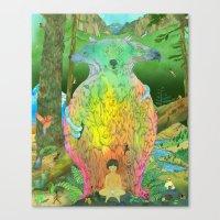 kozyndan Canvas Prints featuring Prime Creator by kozyndan