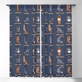 American Pit Bull Terrier Yoga Blackout Curtain