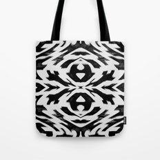 Arrow Tribe Black & White Tote Bag