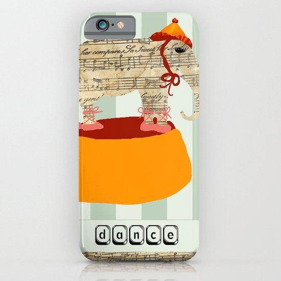 Dancing Elephant iPhone & iPod Case