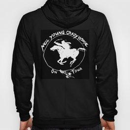 neil young crazy horse on tour black nitrogen Hoody