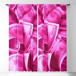 Pink Barbie Benjamins Blackout Curtain