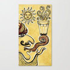 Cutting Chai Canvas Print