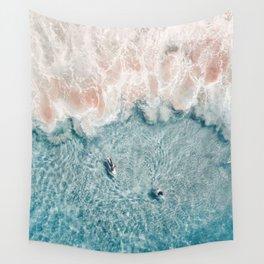 Pink Foam Wall Tapestry