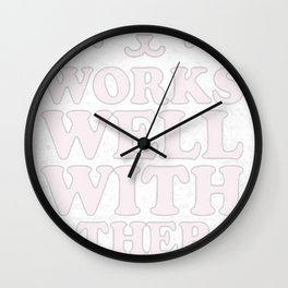 BY OTHERS I MEAN CATS Wall Clock