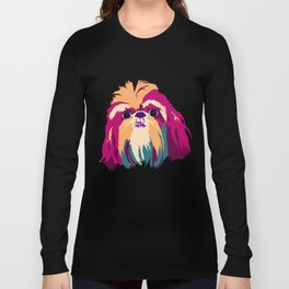 Shih Tzu Face Long Sleeve T-shirt