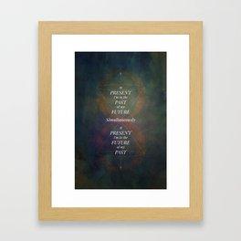 Continuum [CLR VER] Framed Art Print
