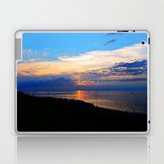Sunset Balcony silhouette Laptop & iPad Skin