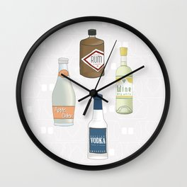 Let's celebrate! Wall Clock