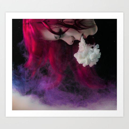 Le Blanc Art Print