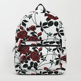 Roses. Backpack