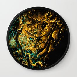 Golden BoB Wall Clock