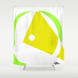 Minimalism             by Kay Lipton Shower Curtain