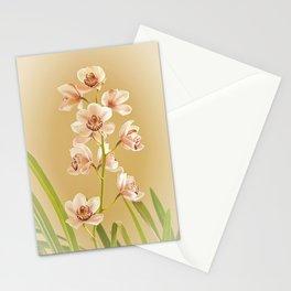 Cymbidium Orchid Stationery Cards