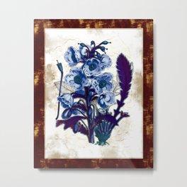 Black Light Botany Metal Print