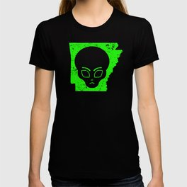 UFO Encounters Alien Arkansas UFO Investigator Hunting T-shirt