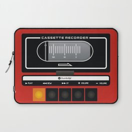 red recorder Laptop Sleeve