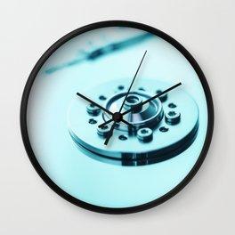 Computer Hard Drive 3 Wall Clock
