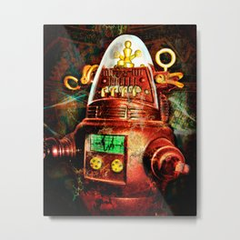 Bro-bot Metal Print
