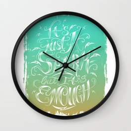 It's Just A Spark Wall Clock