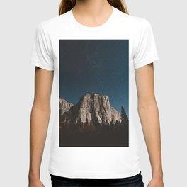 El Capitan in the Moolight T-shirt