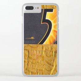 Mango Wrapper Clear iPhone Case
