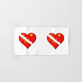 Box of Chocolates Valentines Day Hand & Bath Towel