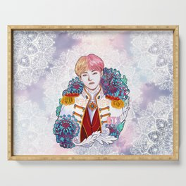 BTS V, King Taehyung, Kings of KPOP, Love Yourself, Boy With Luv Serving Tray