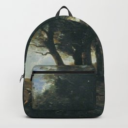 Jean-Baptiste-Camille Corot - The Wood Gatherers Backpack