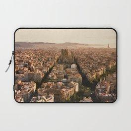 Visit Barcelona  Laptop Sleeve