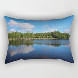 Gator Lake II Rectangular Pillow