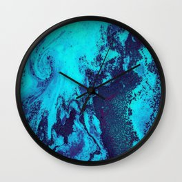Fluo Marble Wall Clock