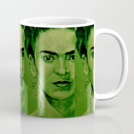 Frida Kahlo - red bow Coffee Mug