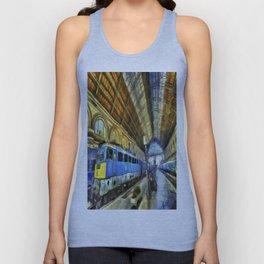 Vincent Van Gogh Railway Station Unisex Tank Top