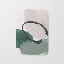 minimalist painting 01 Bath Mat