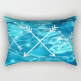 Today is the oldest you've ever been, and the youngest you'll ever be again. Rectangular Pillow