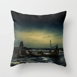 Tromps Remains Throw Pillow