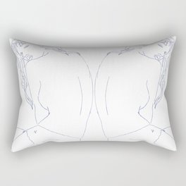 Over The Shoulder Rectangular Pillow