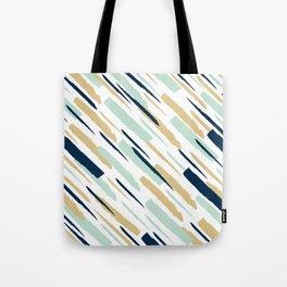 Diagonal strokes Tote Bag
