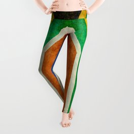Flag of the Republic of South Africa Leggings